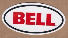 "BELL HELMET STICKER Motocross DECAL RACING NHRA NASCAR IHRA ARCA Motorcycles 3"""