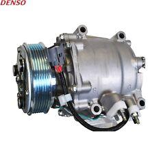 Fits Honda Civic 1.7L L4 GAS SOHC A/C Compressor with Clutch Denso New 4717051