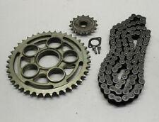 Kettensatz gebraucht Kette Ritzel Kettenrad chain Ducati Hypermotard Hyper 796