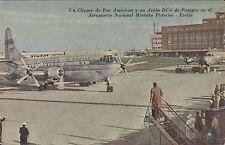 ARGENTINA AVIATION EZEIZA CLIPPER Y DC-6 AEROPUERTO NACIONAL MINISTRO PISTARINI