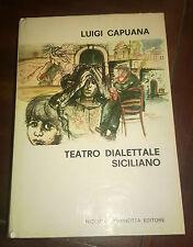 """Libri/Riviste/Giornali""""TEATRO DIALETTALE SICILIANO""""Capuana/Giannotta"""