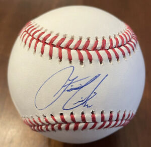 Francisco Lindor Signed baseball w/ PSA/DNA COA