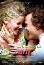 CANDY Movie POSTER 27x40 Abbie Cornish Heath Ledger Geoffrey Rush Tom Budge