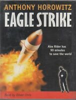 Eagle Strike Anthony Horowitz 6 Cassette Audio Book Alex Rider Unabridged