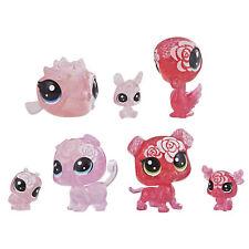 Littlest Pet Shop Petal Party Rose Collection, 7 pets