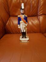 Thüringen Porzellan Figur -Napoleon's Marshal  Bertrand- bis 1937 !