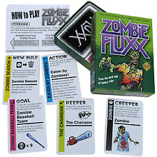 Card Games--Fluxx - Zombie Fluxx Card Game