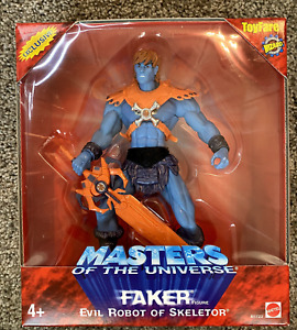 MOTU Mattel 200x Masters of the Universe Toyfare Faker MISB