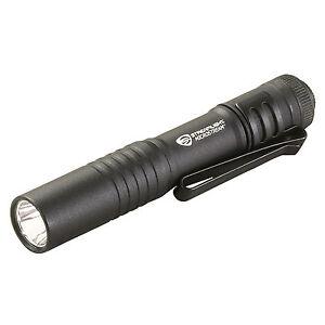 STREAMLIGHT 66318 BLACK MICROSTREAM LED FLASHLIGHT NEW 45 LUMENS