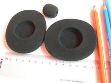 SET : Schaumstoff Ohrpolster + Windschutz zB f. JABRA GN 2000  Headset  GN2000