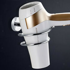 Hair Dryer Holder Hair Dryer Organizer Wall Mounted Spiral Styling for Bath