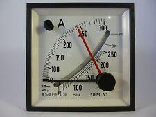 Siemens emc96 0-300a (0-250a) amperíme analógico instalación medidor de nuevo