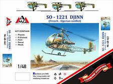 AMG 1/48 SO 1221 Djinn helicopter  plastic kit