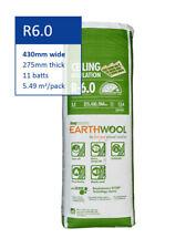 R6.0 | 430mm Knauf Earthwool® Thermal Ceiling Insulation Batts