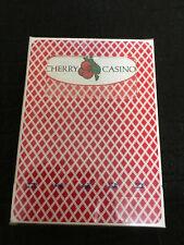 Bee Cherry Casino deck playing cards Sealed Cincinnati Ohio Uspcc Rare