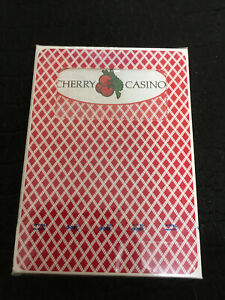 BEE Cherry Casino deck playing cards SEALED Cincinnati Ohio USPCC RARE