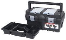 Werkzeugkoffer Werkzeugkiste Toolbox Formular S 500 mit Stahlgriff / Ablageboxen