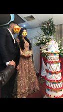 indian pakistani wedding bridal lehnga
