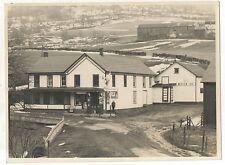 Coca Cola, Pepsi Advertizing! Vintage Gas Station, DENVER NY, Antique Photograph