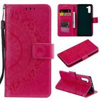 Samsung Galaxy Note10 Handyhülle Tasche Schutzhülle Flip Case Cover Mandala Pink