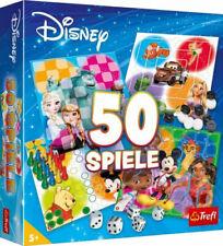 Trefl|Disney 50 Spiele (Spielesammlung)|ab 5 Jahren