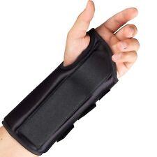 OTC Wrist Splint, 8-Inch Adult, Lightweight Breathable, Small (Left Hand)