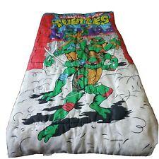 Vintage 1988  Teenage Mutant Ninja Turtles Sleeping Bag TMNT