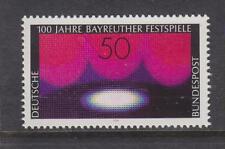 WEST GERMANY MNH STAMP DEUTSCHE BUNDESPOST 1976 BAYREUTH FESTIVAL SG 1788