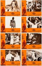 THE WICKER MAN (1973) U.S. Lobby Cards Complete Set of 8