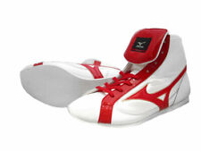 Authentic Mizuno Boxing Shoes Short White × Red made in Japan Bto New from Jpn