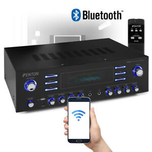 Bluetooth 5 Channel Surround Sound Amplifier USB Aux 200W Home Theatre HiFi