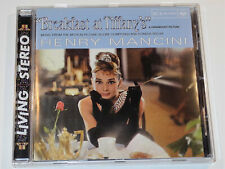 Henry Mancini BREAKFAST AT TIFFANY'S Audrey Hepburn Soundtrack CD (VG+)