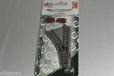 Kato n gauge Unitrack Electric Turnout 150mm 45 degrees Left 20-240