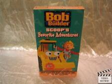 Bob The Builder Scoop's Favorite Adventures VHS NEW