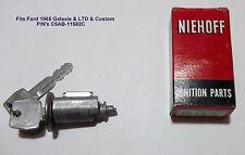 1965 Ford Galaxie LTD Custom Lock Cylinder Niehoff FF-147N  C5AB-11582C U.S.A.