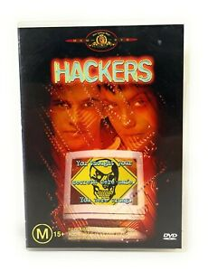 Hackers (DVD, 1995) Jonny Lee Miller Region 4 Free Postage