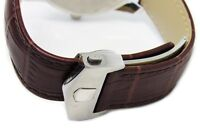 22mm Replacment Watch Band Strap Alligator-Style + With Clasp Made For Tag Heuer