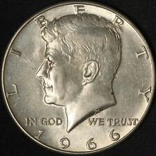 1966-P Kennedy Silver Half Dollar Doubling- Free Shipping USA