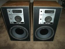 Vintage Electrostatic Sound Systems ESS Targa 312 3 Way Speakers FREE SHIPPING!!