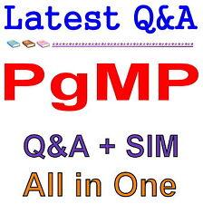 PMI Program Management Professional PgMP Exam Q&A PDF+SIM