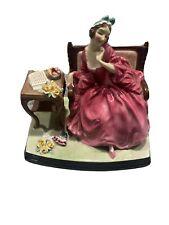 "Vintage Royal Doulton English Porcelain Figurine ~ ""Teresa� ~ Hn 1682 Rare!"