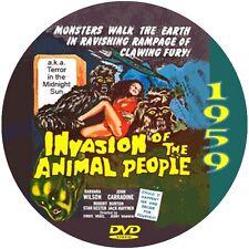"Terror in the Midnight Sun (1959) Sci-Fi and Horror ""B"" NR CULT Movie DVD"