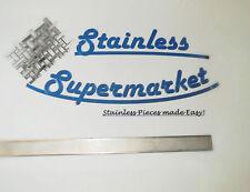 304 Stainless Steel Flat Bar / Strip 25.4mm x 0.9mm x 1000mm