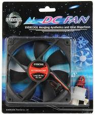EVERCOOL EC12025H12BP 120x120x25mm High Speed Double Ball Bearing PWM Fan