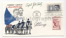 Will Fritz and Jesse E. Curry - JFK Assassination Figures - Signed FDC
