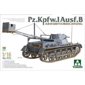 Takom 1/16 Pz.Kpfw.I Ausf.B Plastic Model Kit 1012
