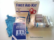 FIRST AID KIT for 10 People, Meets OSHA and Industry Requirements + 3  # Seals