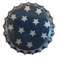 100 Star Blue Home Brew Beer Bottle Crown Caps Sun Moon Decoration Art Crafts
