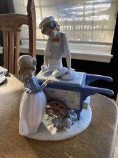"""New ListingLladro Figurine """"Ice Cream Vendor"""" #5325 -A Ramos -Ret 1995- 11.75""""H"""