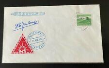1962 Nederland Holland rocket mail  signed